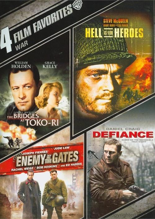 4 Film Favorites: War