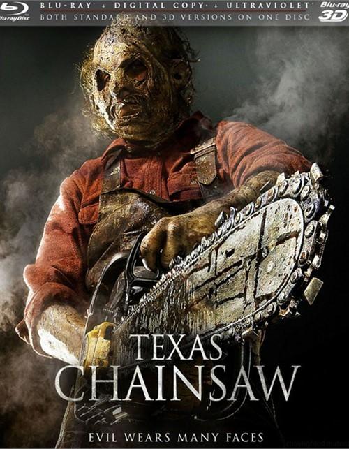 Texas Chainsaw 3D (Blu-ray 3D + Blu-ray + Digital Copy + UltraViolet)