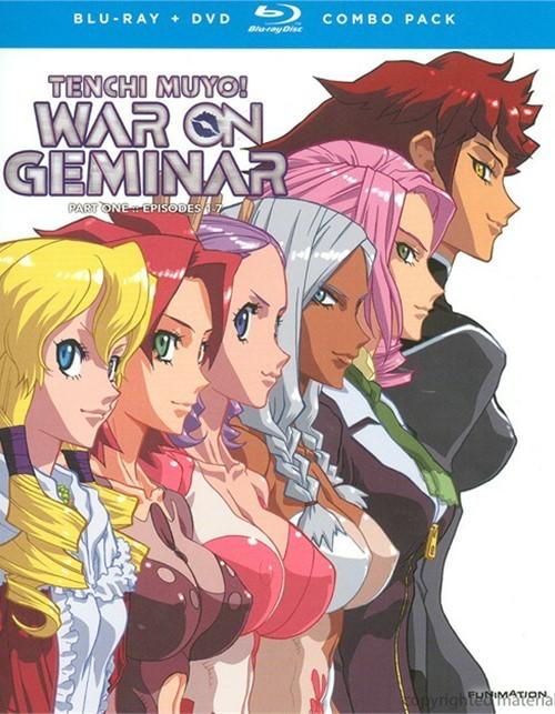 Tenchi Muyo!: War On Geminar - Part One Alternate Art (Blu-ray + DVD Combo)