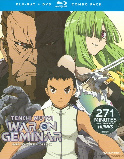 Tenchi Muyo!: War On Geminar - Part Two (Blu-ray + DVD Combo)