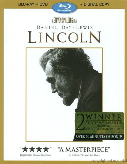 Lincoln (Blu-ray + DVD + Digital Copy)