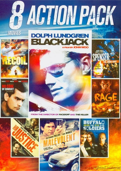 8 Movie Action Pack: Volume 6