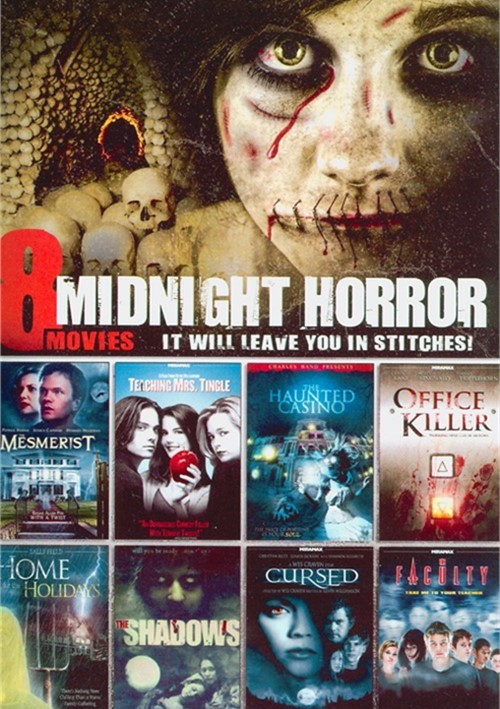 8 Movie Midnight Horror Collection: It Will Leave You In Stitches!