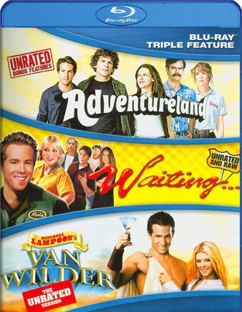 Adventureland / Waiting / National Lampoons: Van Wilder (Triple Feature)