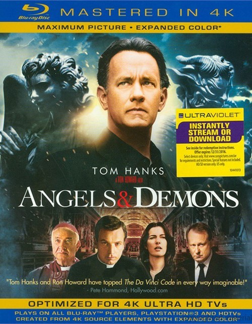 Angels & Demons (Blu-ray + UltraViolet)