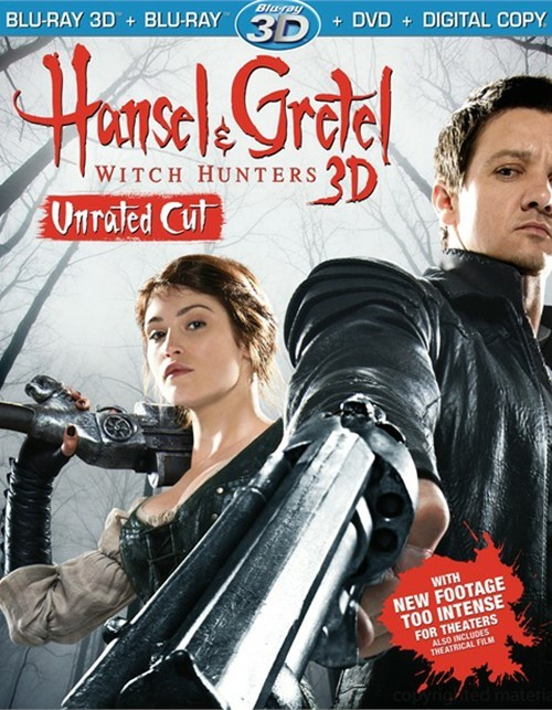 Hansel And Gretel: Witch Hunters 3D (Blu-ray 3D + Blu-ray + DVD + Digital Copy + UltraViolet)