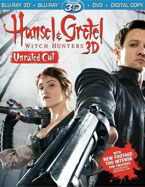 Hansel And Gretel: Witch Hunters 3D (Blu-ray 3D + Blu-ray + DVD + Digital Copy + UltraViolet)