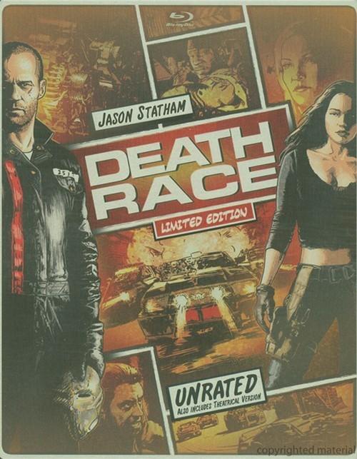 Death Race: Unrated (Steelbook + Blu-ray + DVD + Digital Copy + UltraViolet)