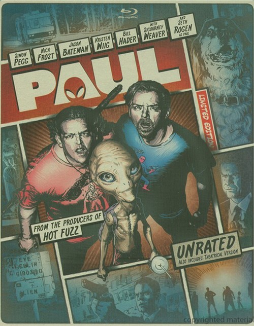 Paul (Steelbook + Blu-ray + DVD + Digital Copy + UltraViolet)