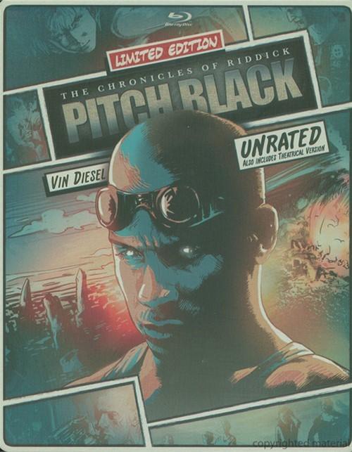 Pitch Black: Unrated (Steelbook + Blu-ray + DVD + Digital Copy + UltraViolet)