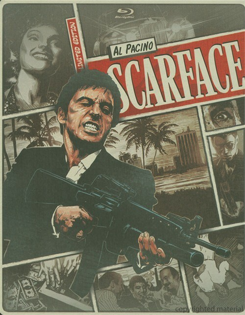 Scarface (Steelbook + Blu-ray + DVD + Digital Copy + UltraViolet)