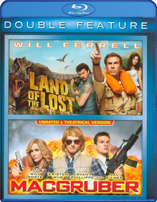 Land Of The Lost / MacGruber (Double Feature)