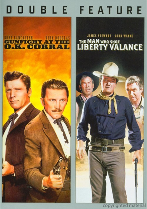 Gunfight At The O.K. Corral / The Man Who Shot Liberty Valance (Double Feature)