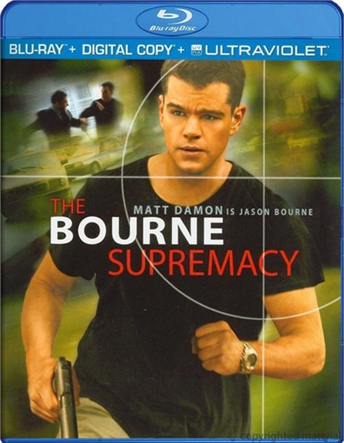 Bourne Supremacy, The (Blu-ray + Digital Copy + UltraViolet)
