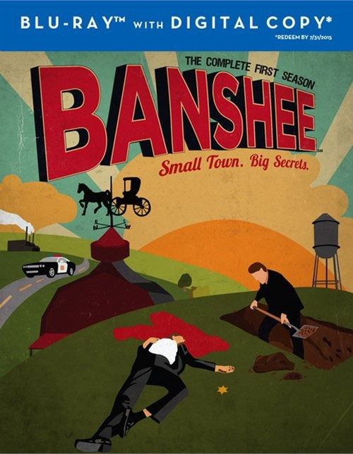 Banshee: The Complete First Season (Blu-ray + Digital Copy)