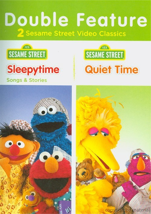 Sesame Street:ytime Songs & Stories / Quiet Time (Double Feature)