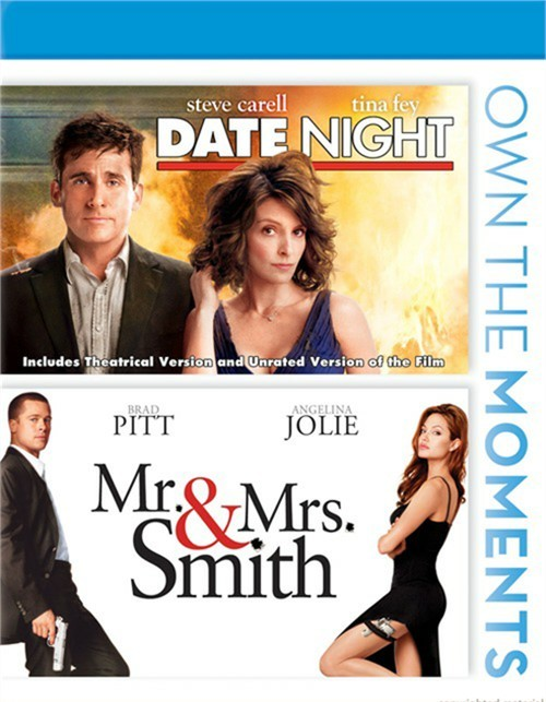Date Night / Mr. & Mrs. Smith (Double Feature)