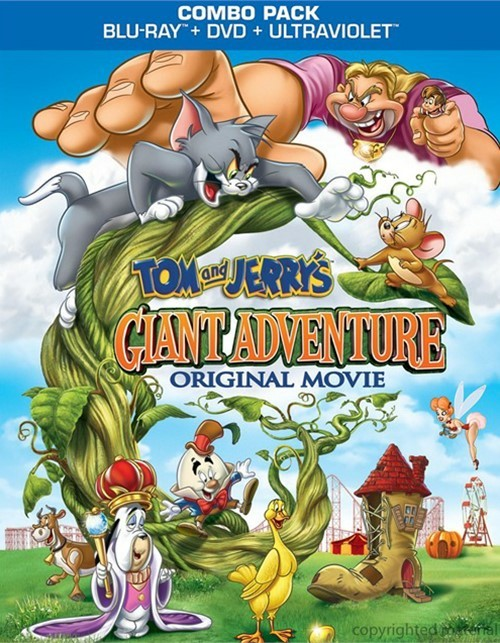 Tom And Jerrys Giant Adventure (Blu-ray + DVD + UltraViolet)