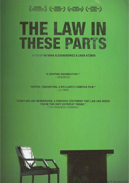 Law In These Parts, The