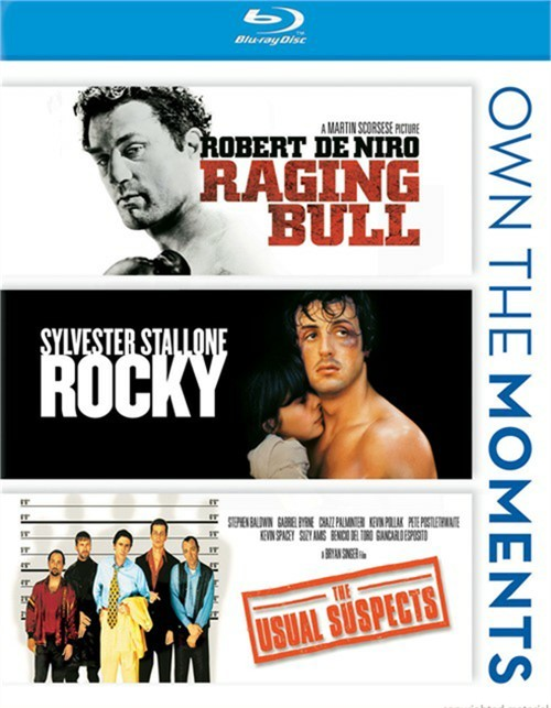 Raging Bull / Rocky / The Usual Suspects (Triple Feature)