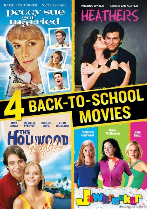 Jawbreaker / Hollywood Knights / Peggy Sue Got Married / Heathers (Back To School Favorites Quad)