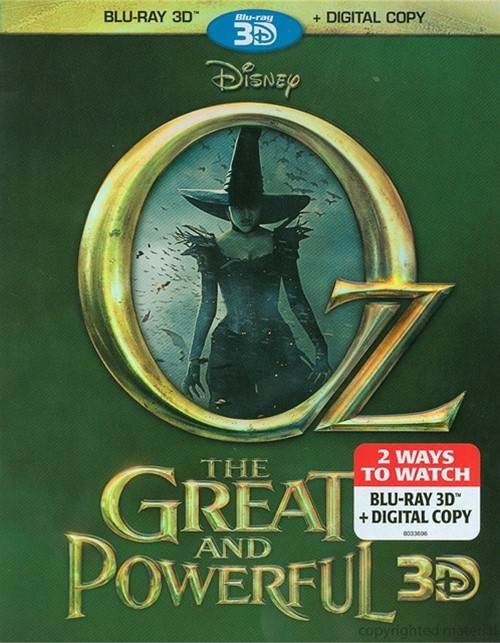 Oz The Great And Powerful 3D (Blu-ray 3D + Digital Copy)