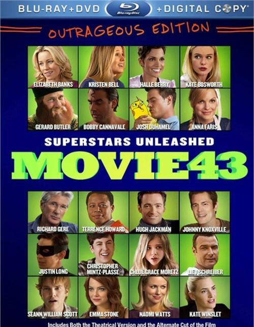 Movie 43 (Blu-ray + DVD + Digital Copy)