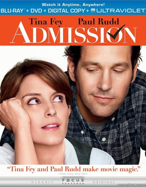Admission (Blu-ray + DVD + Digital Copy + UltraViolet)