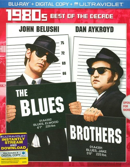 Blues Brothers, The (Blu-ray + Digital Copy + UltraViolet)