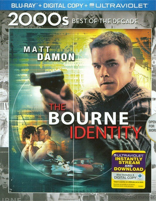 Bourne Identity, The (Blu-ray + Digital Copy + UltraViolet)