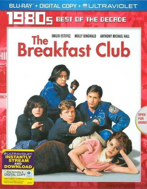 Breakfast Club, The (Blu-ray + Digital Copy + UltraViolet)