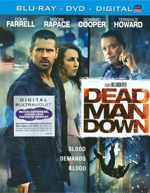Dead Man Down (Blu-ray + DVD + UltraViolet)
