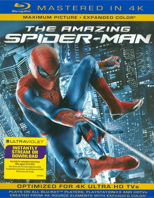 Amazing Spider-Man, The (Blu-ray + UltraViolet)