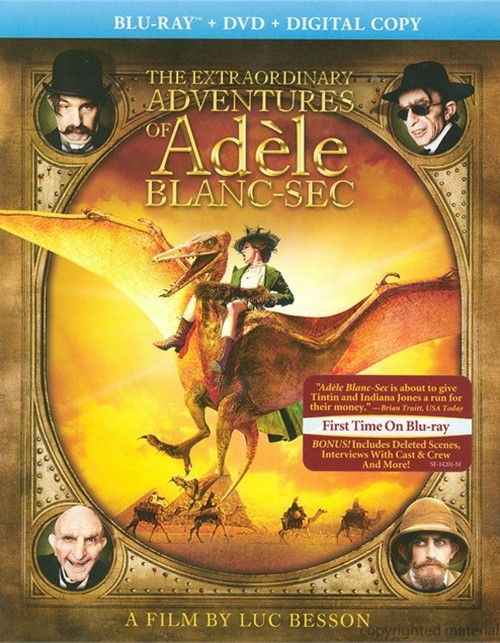 Extraordinary Adventures Of Adele Blanc-Sec, The (Blu-ray + DVD + Digital Copy)