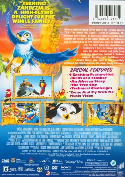 Adventures In Zambezia Dvd 2012 Dvd Empire