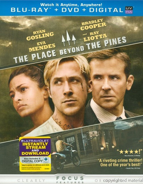 Place Beyond The Pines, The (Blu-ray + DVD + Digital Copy + UltraViolet)