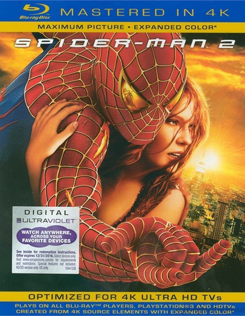 Spider-Man 2 (Blu-ray + UltraViolet)