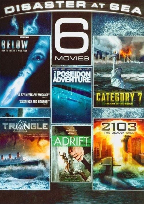Disaster At Sea: 6 Movie Pack
