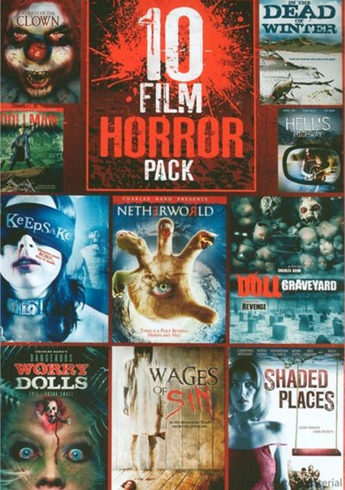 10 Film Horror Pack Vol. 3