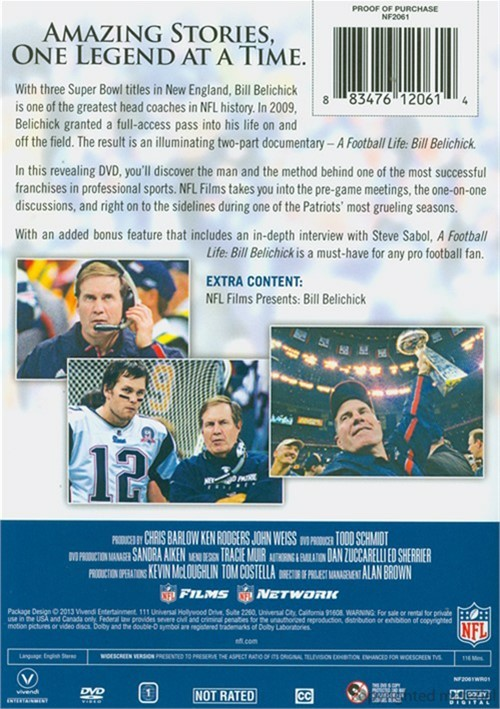 A football life bill belichick download movies