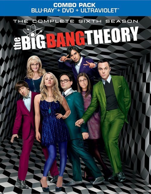 Big Bang Theory, The: The Complete Sixth Season (Blu-ray + DVD + UltraViolet)