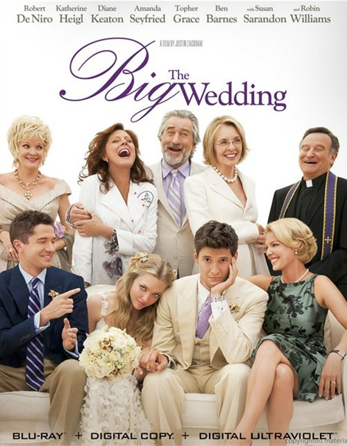 Big Wedding, The (Blu-ray + Digital Copy + UltraViolet)