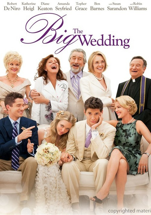 Big Wedding, The (DVD + Digital Copy + UltraViolet)