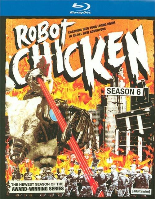 Robot Chicken: Season Six (Blu-ray + UltraViolet)