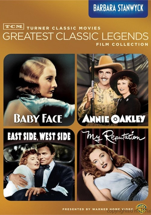 TCM Greatest Classic Films: Legends - Barbara Stanwyck