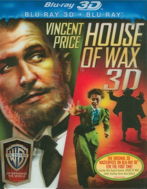 House Of Wax 3D (Blu-ray 3D + Blu-ray)