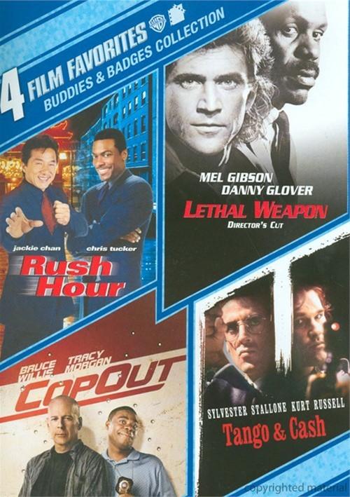 4 Film Favorites: Buddies & Badges Collection