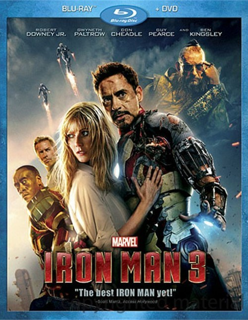Iron Man 3 (Blu-ray + DVD Combo)