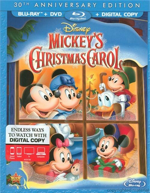 Mickeys Christmas Carol: 30th Anniversary Edition (Blu-ray + DVD + Digital Copy)
