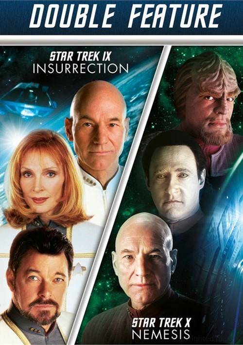 Star Trek IX: Insurrection / Star Trek X: Nemesis (Double Feature)